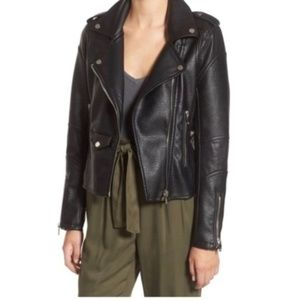 BlankNYC Easy Rider Vegan Leather Moto Jacket